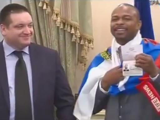 Рой Джонс-младший получил российский паспорт